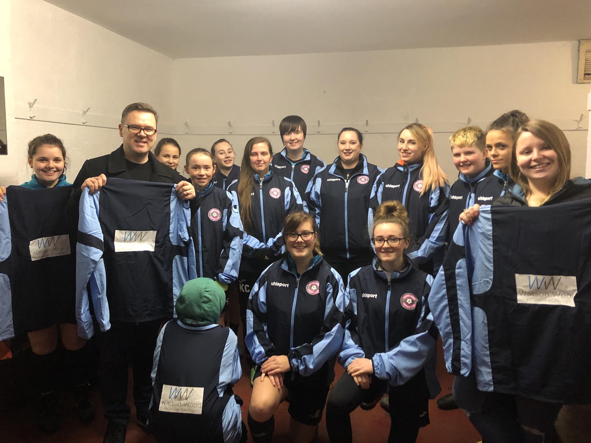 Watson Wood sponsors Nairn Ladies Football Team