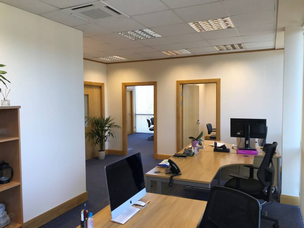 Watson Wood Financial Planners Inverness Office Refurbishment 1