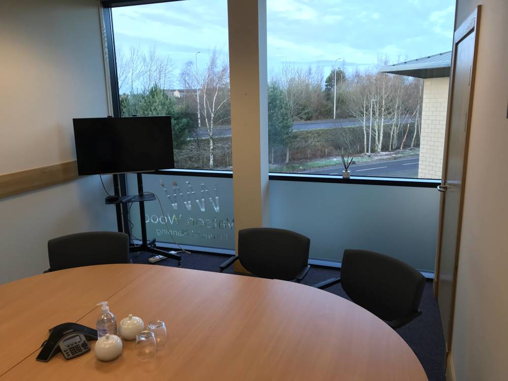 Watson Wood Financial Planners Inverness Office Refurbishment