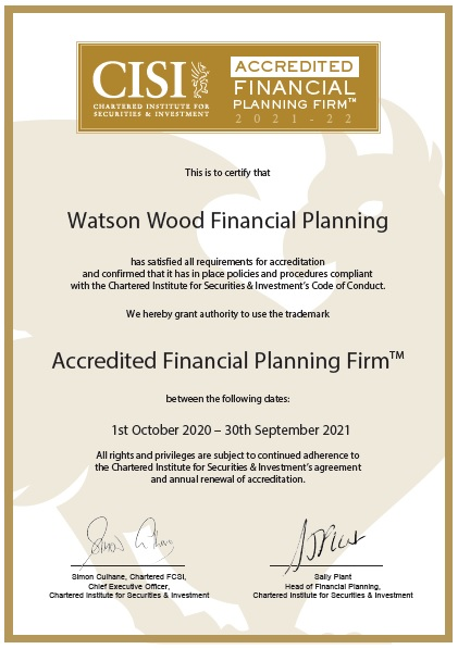 Corporate Chartered Financial Status